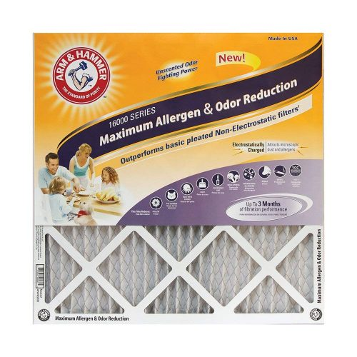Arm & Hammer Max Allergen & Odor Reduction Air and Furnace Filters - AC Filters