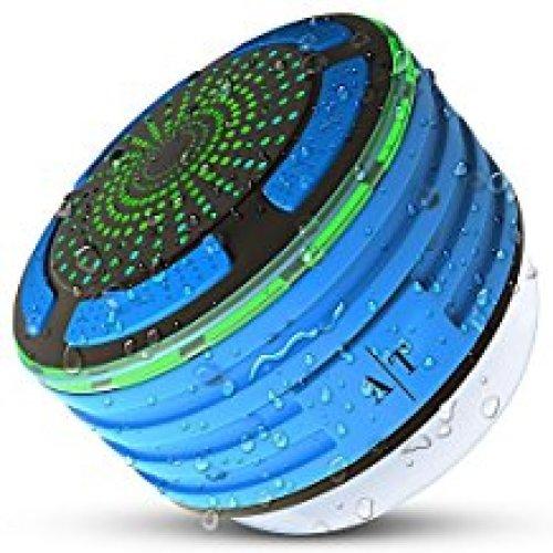 Shower Speaker, Auto Tech Waterproof Bluetooth Speaker - Shower Speakers
