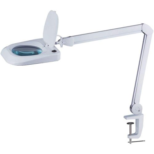 """Omano LED Magnifying Lamp (2x Magnifier) Professional Desktop, Reading, Hobby, and Task Use 