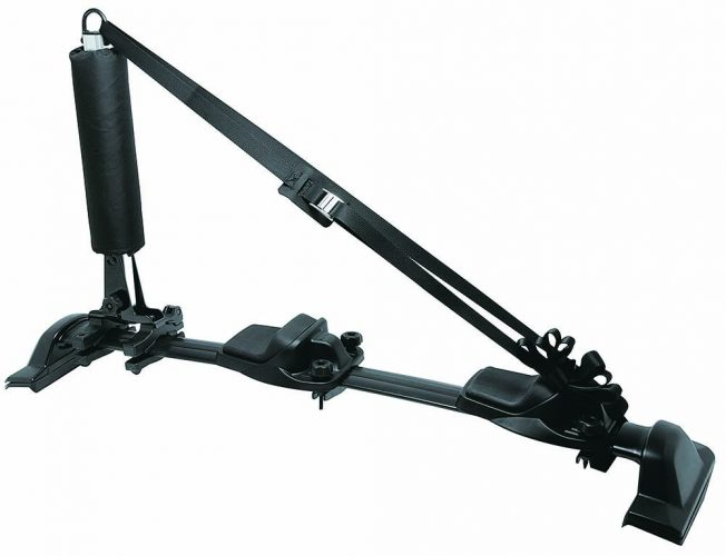 INNO INA450 Easy Mount Dual (2) Kayak Carrier with Universal Mount (Fits Rounds, Square, Aero and Most Factory Bars) for Car, Truck, or SUV
