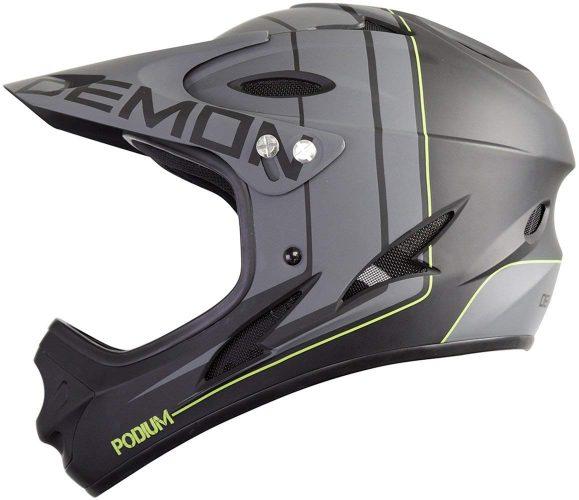 Demon Podium Full Face Mountain Bike Helmet- 6 Color Options Available
