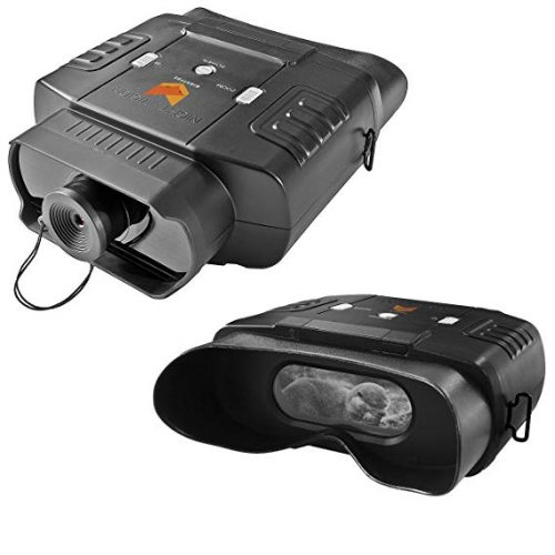 Nightfox 100V Widescreen Digital Night Vision Infrared Binocular with Zoom 3x20