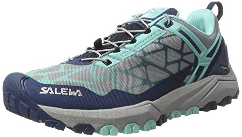 Salewa Women's MultiTrack Speed Hiking Shoe | Mountain Training, Mountain Biking, Trail Running | Michelin Rubber Outsole, Breathable Lightweight Construction
