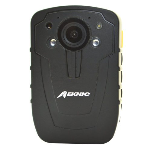 """Meknic Q2 1296P Portable Security Guards Police Body Camera, Night Vision, Built in 32G Memory Body Worn Camera with 2"""" Display for Law Enforcement, Police Officers, Security Companies (32GB)"""