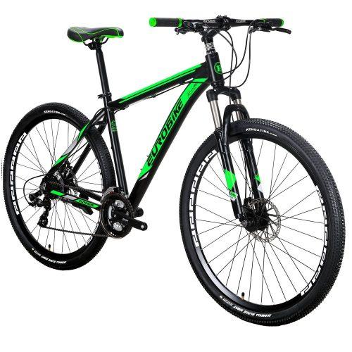 EUROBIKE EURX9 Mountain Bike 21 Speed 29 Inches Wheels Dual Disc Brake Aluminum Frame MTB Bicycle