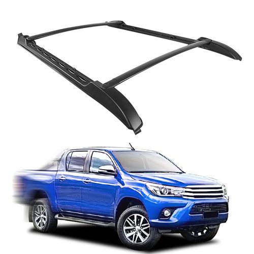 Are your shop Roof Rack For 2005-2018 Toyota Tacoma Double Cab Top Side Rails Cross Bar