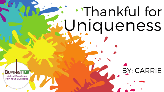 Thankful for Uniqueness