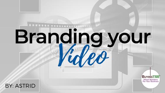 Branding Your Video