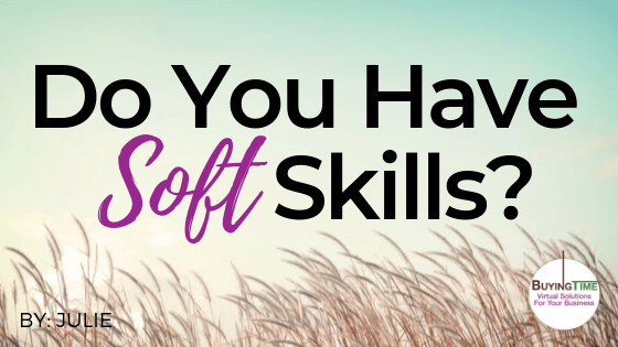Do you have soft skills?