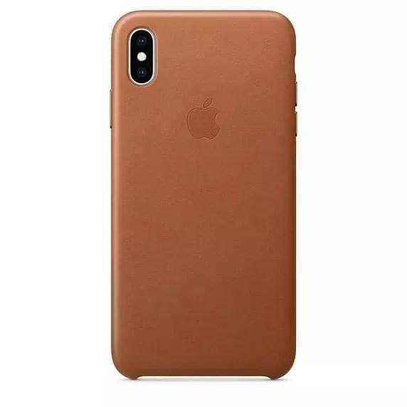 כיסוי עור לXS MAX - iPhone XS MAX Leather Case