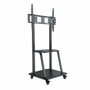 Trolley Movable TV Stand Cart LCD LED Bracket up to 100″ Inch