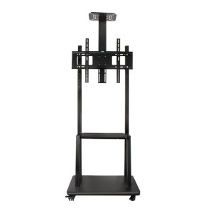 Trolley Movable TV Stand Cart LCD LED Bracket up to 65 Inch