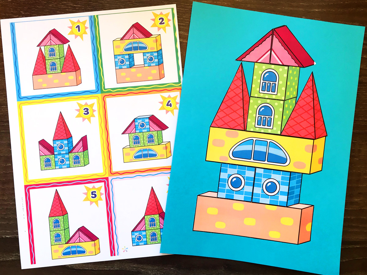 3d Shapes Pack Worksheets And Activities Buylapbook