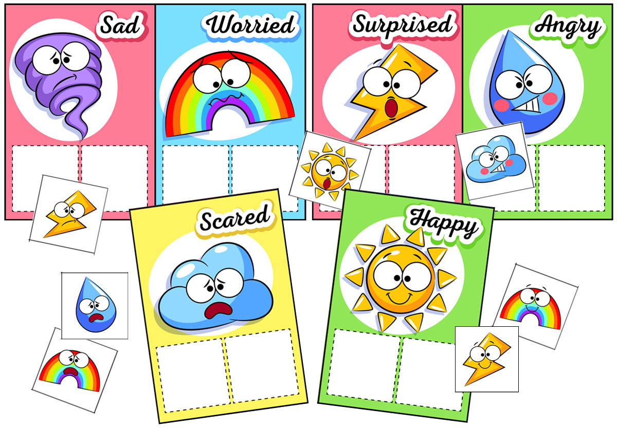 Feelings And Emotions Worksheets Buylapbook