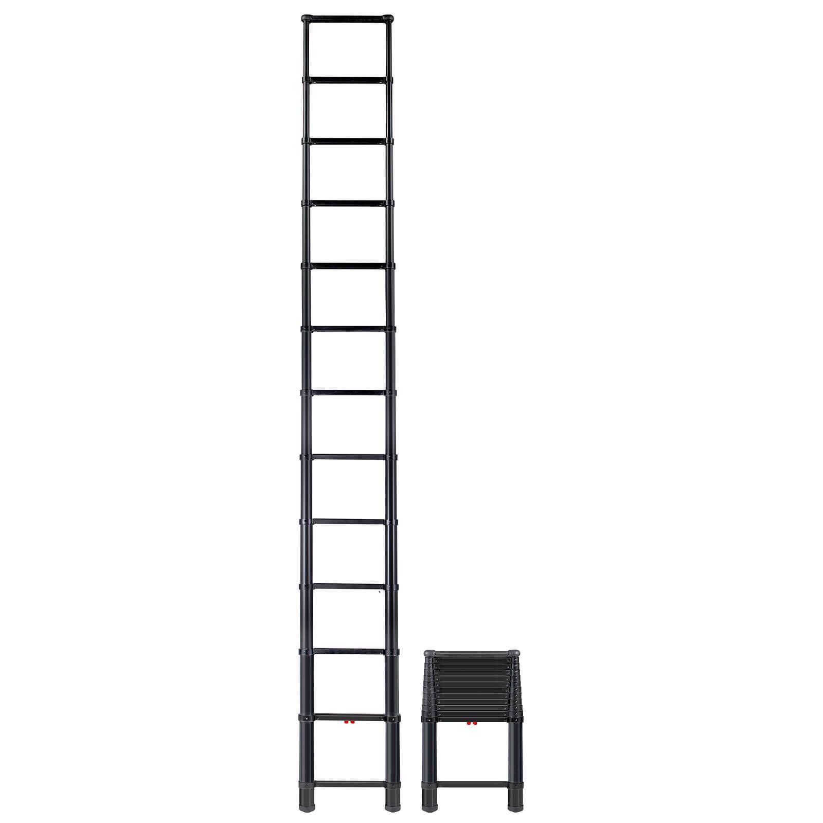 Telesteps 16 Black Tactical Extension Ladder