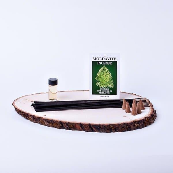 moldavite incense sticks