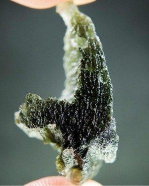 Moldavite Uncommon Shape Stone (8.53grams)