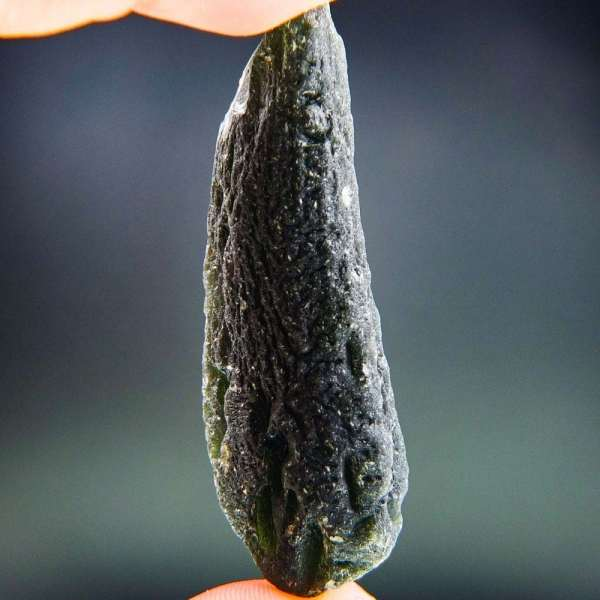 Elegant Large Moldavite Found On Surface With Certificate Of Authenticity (38.1grams)1
