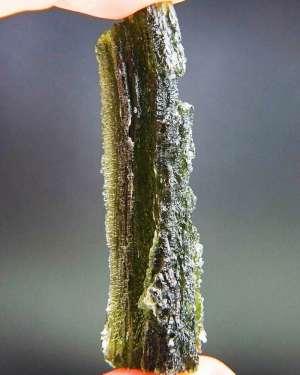 Long Natural Raw Moldavite (13.47grams)