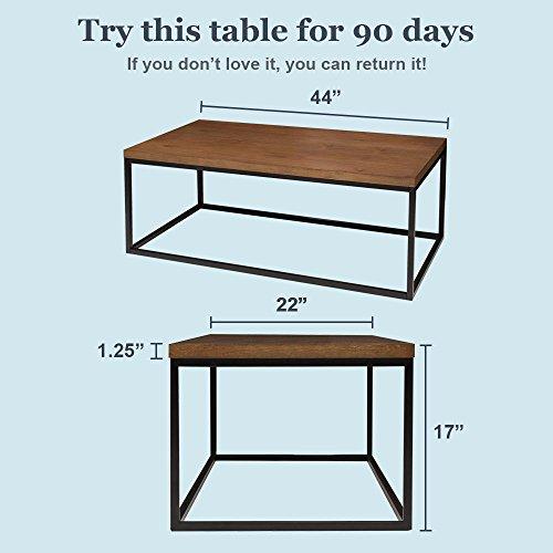solid wood coffee table modern industrial space saving sofa