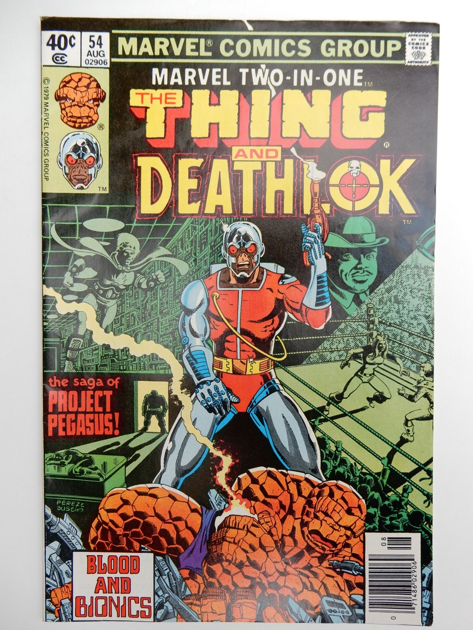 Marvel Two-In-One #54