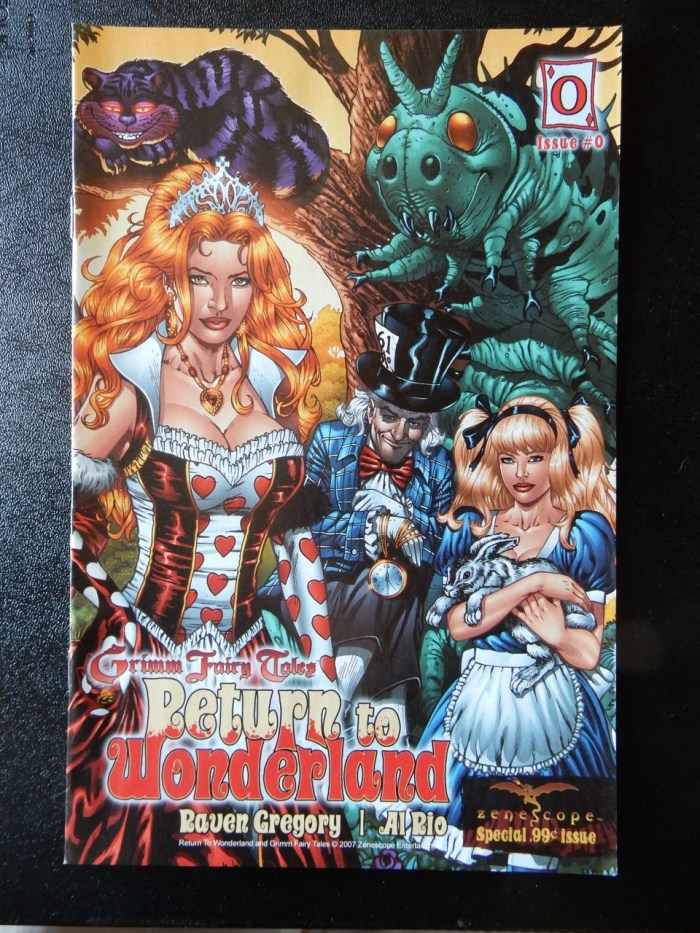 Return To Wonderland #0 - Al Rio, Raven Gregory Preview Issue