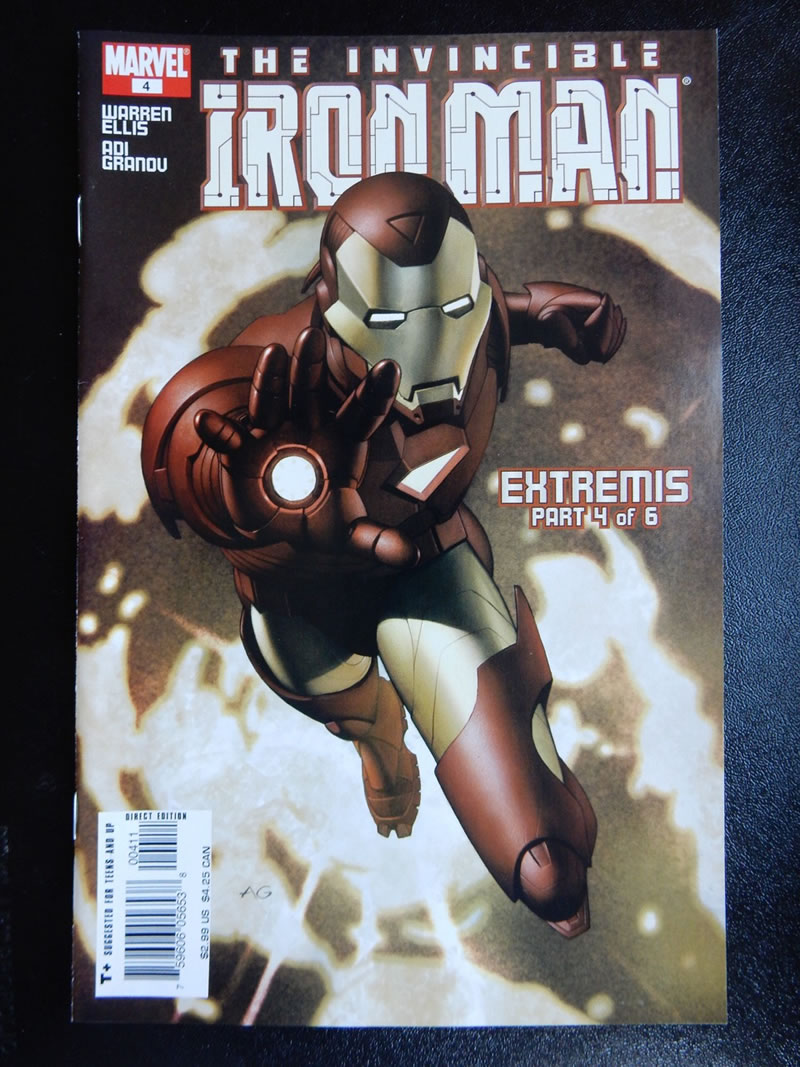 Iron Man: Extremis #4 by Adi Granov and Warren Ellis