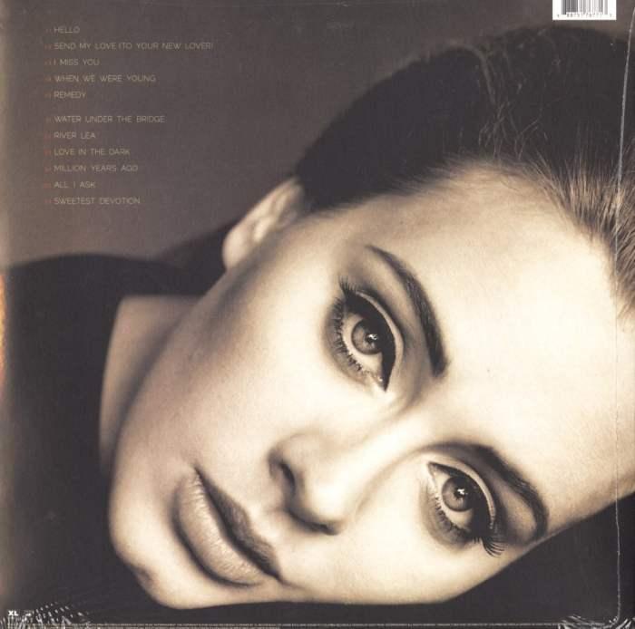 Adele - 25 - 180 Gram, Vinyl, LP, Sony Records, 2015