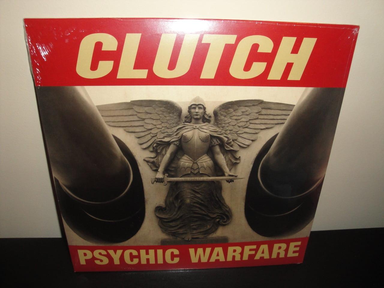 Clutch White Vinyl