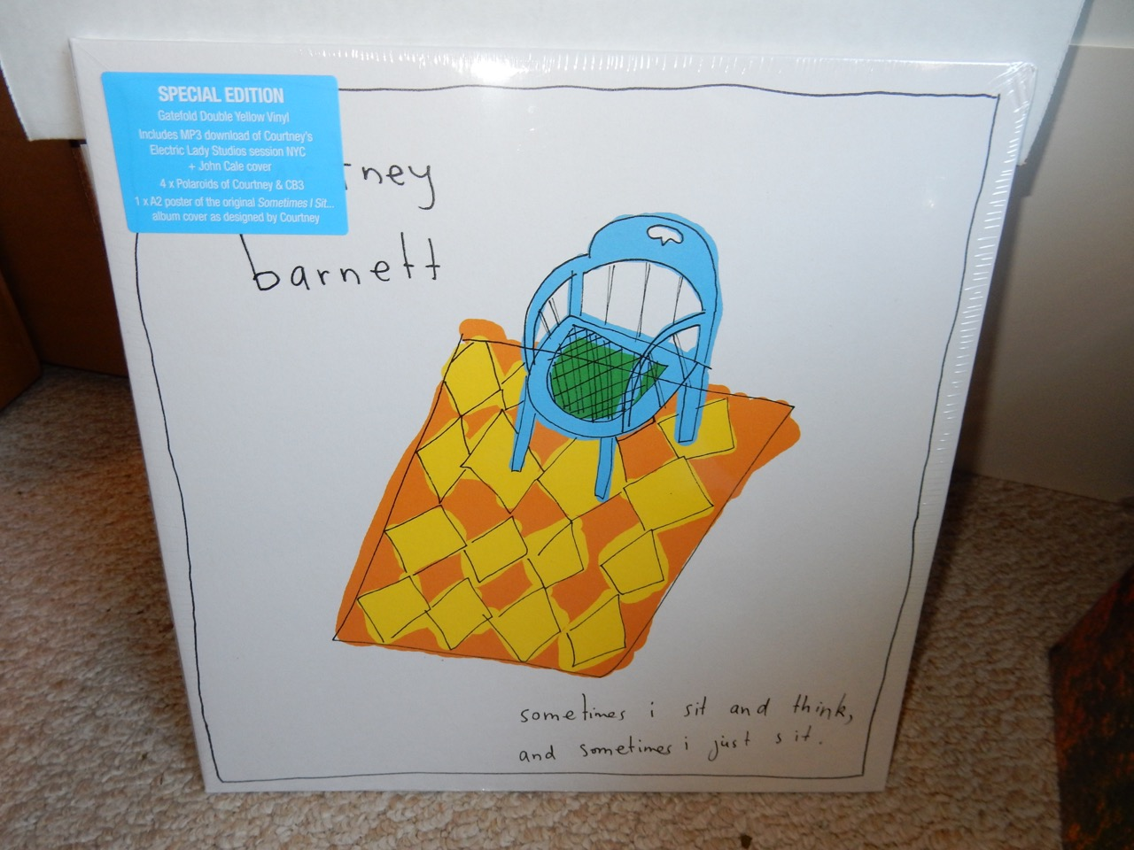Courtney Barnett – Sometimes I Sit And Think... 2XLP Yellow Special Edition