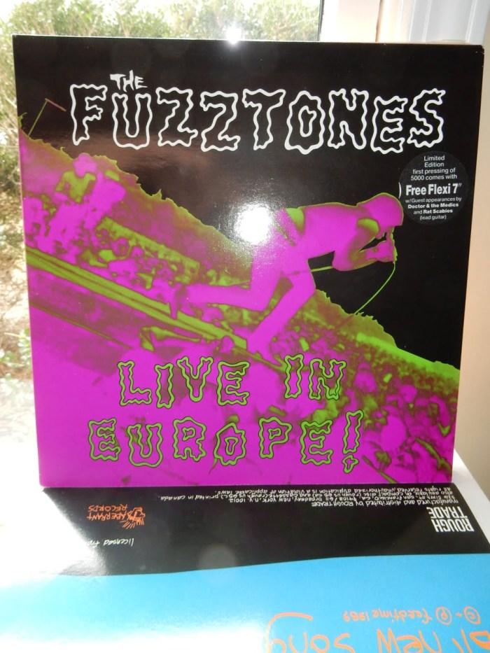 Fuzztones - Live In Europe Ltd Ed Vinyl with Flexi