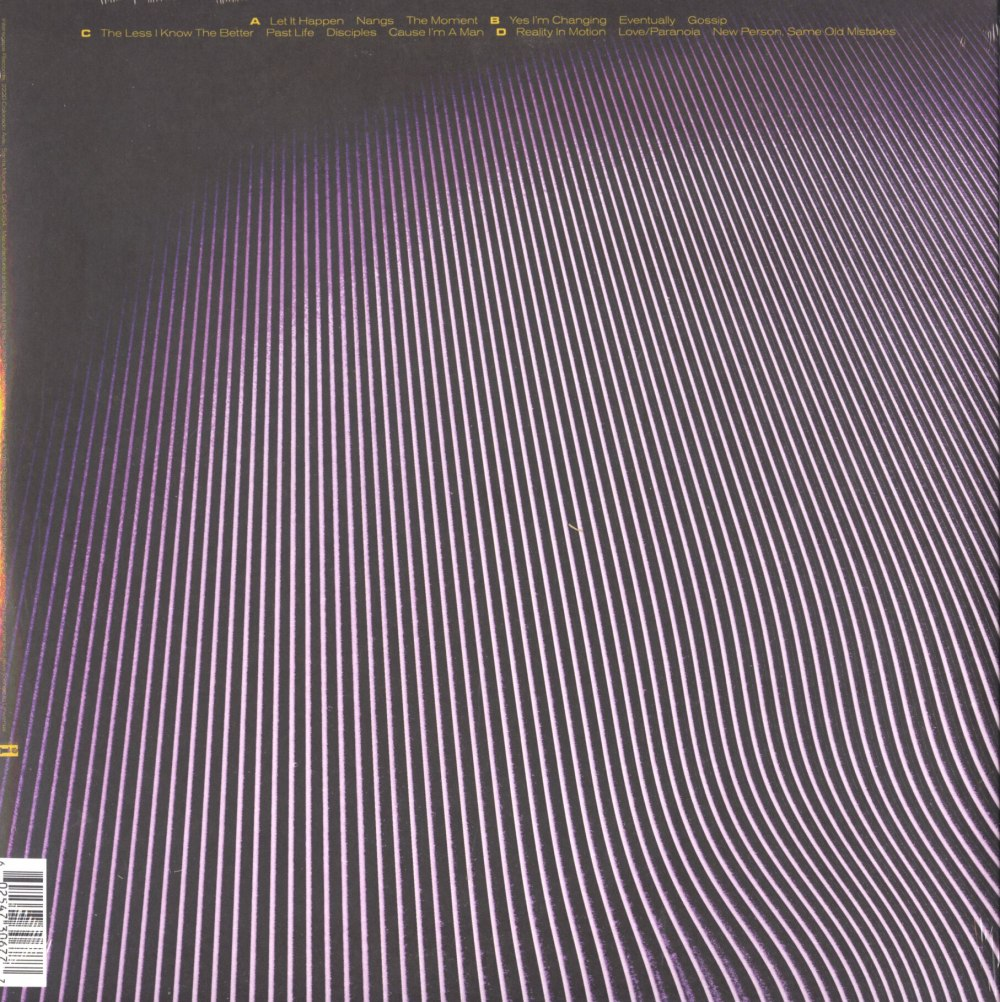 "Tame Impala ""Currents"" 2XLP, Vinyl, Gatefold Jacket, Interscope Records, 2015"