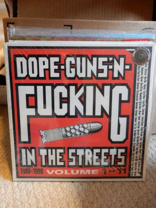 Dope, Guns and F***ing In The Streets 3XLP Vinyl