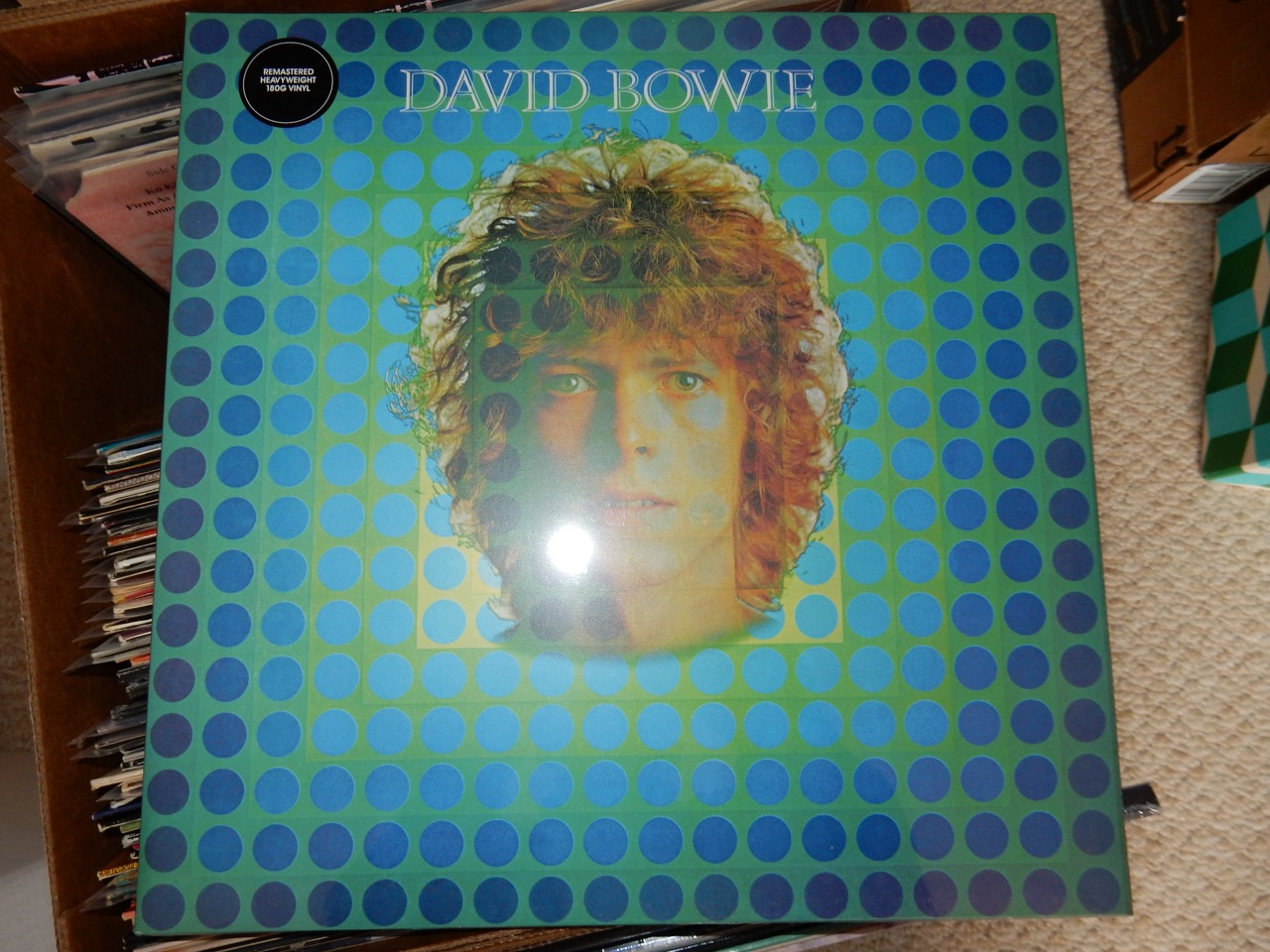 """David Bowie - David Bowie """"Space Oddity"""" 180 Gram Vinyl Remaster"""