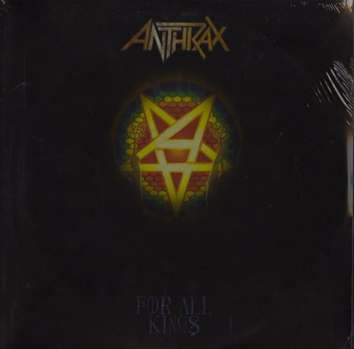 "Anthrax ""For All Kings"" Yellow Splatter Vinyl plus Slipmat"