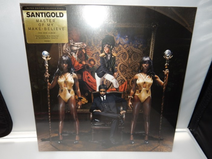 """Santigold """"Master Of My Make-Believe"""" Colored Vinyl Limited Edition"""