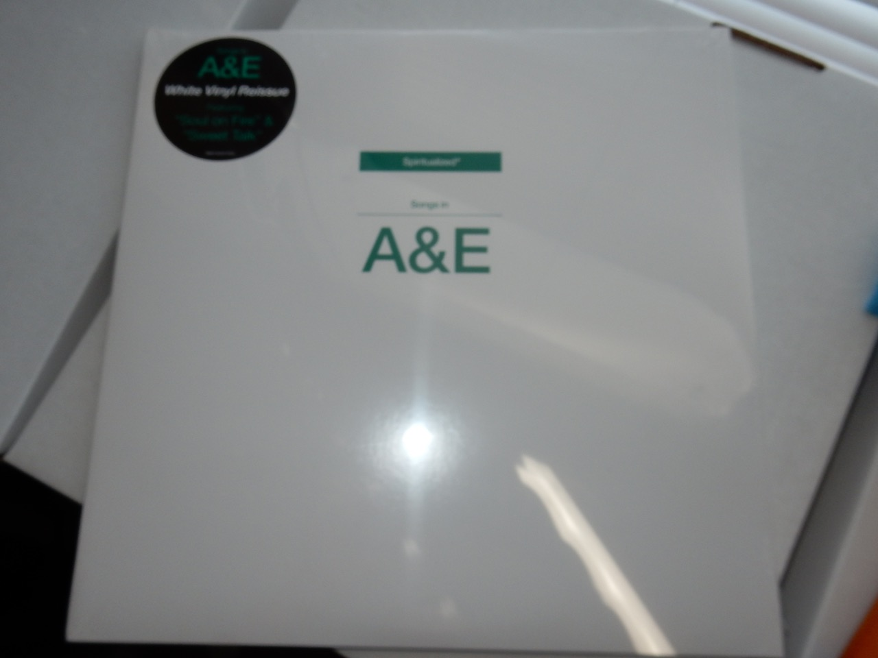 "Spiritualized ""Songs In A&E"" White 2XLP Vinyl Reissue"