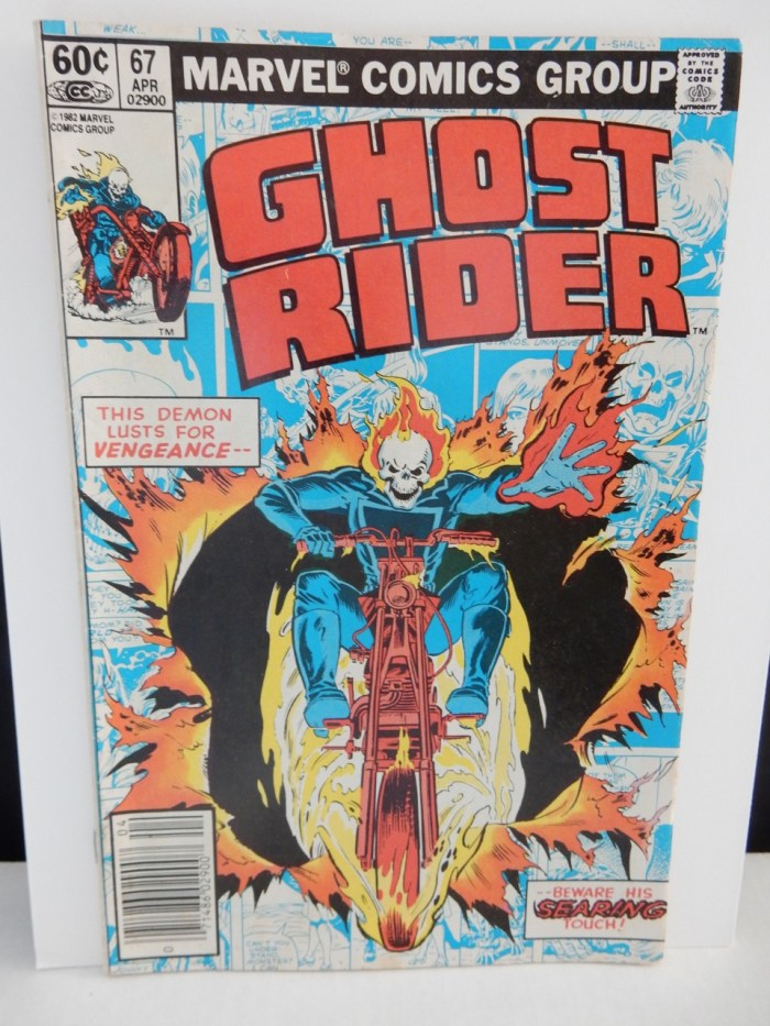 Ghost Rider #67 comic book from 1982