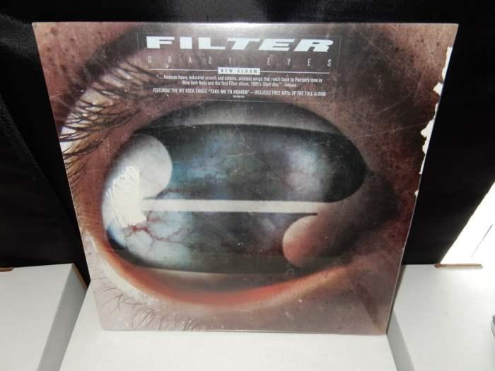 Crazy Eyes Colored Vinyl
