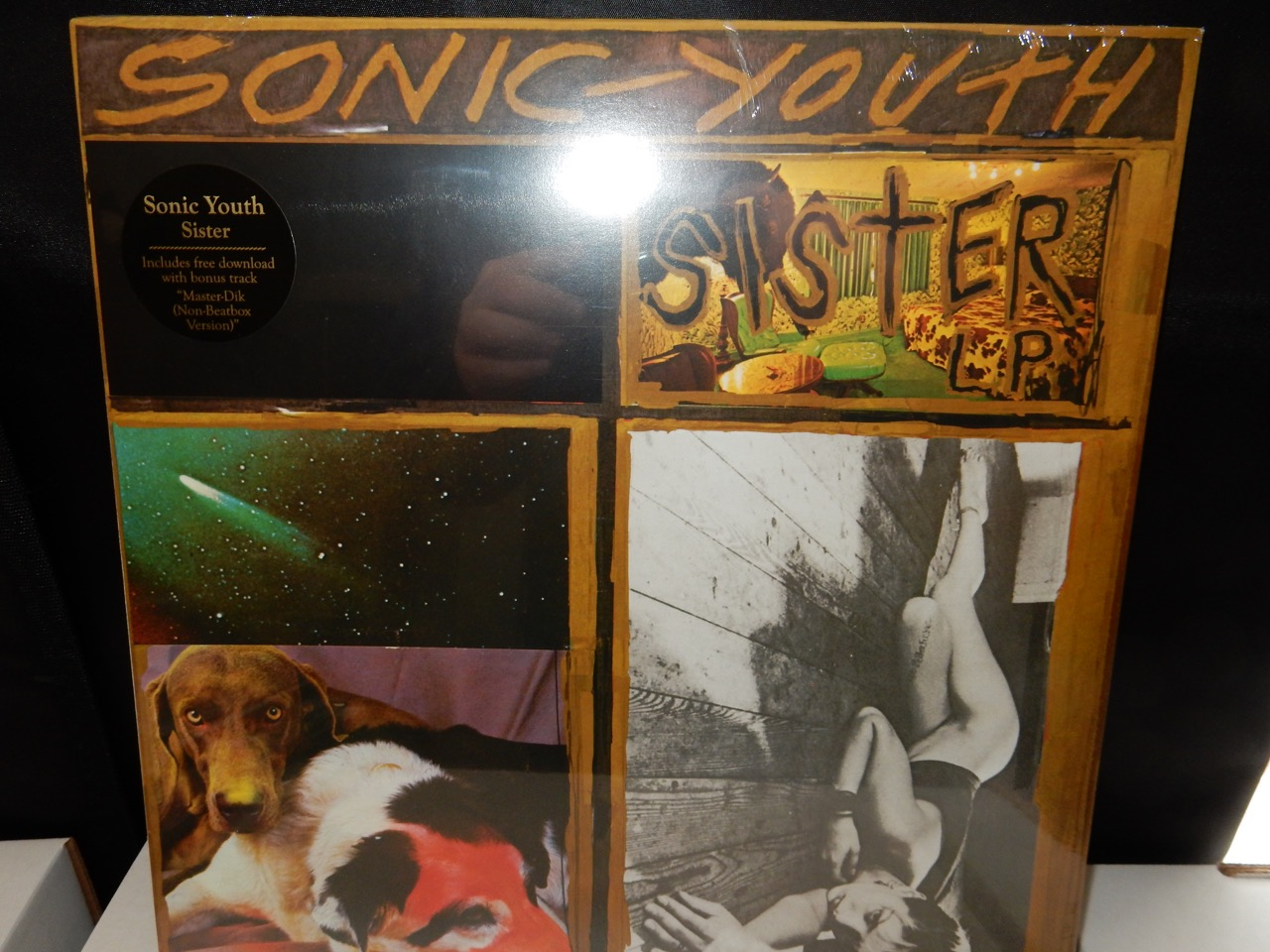"Sonic Youth ""Sister"" Goofin Records Vinyl LP Reissue"