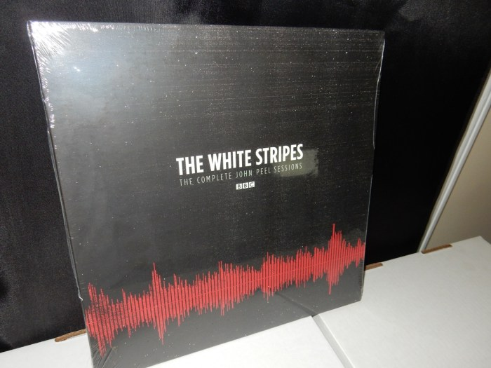 "The White Stripes ""The Complete John Peel Sessions"" 2XLP Ltd Ed Vinyl Record NEW"