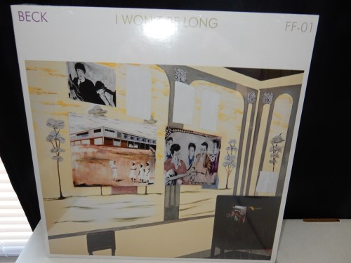 "Beck ""I Won't Be Long"" Ltd Ed 12"" Vinyl Single"