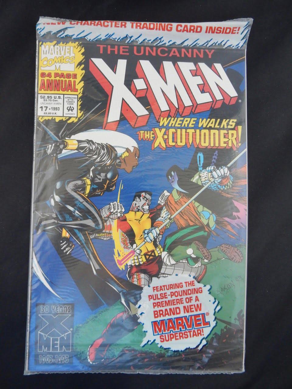 Uncanny X-Men Annual #17 Marvel Comics 1993 Storm Colossus