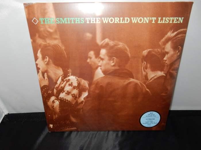 """The Smiths """"The World Won't Listen"""" Remastered 180 Gram 2XLP Vinyl Gatefold"""