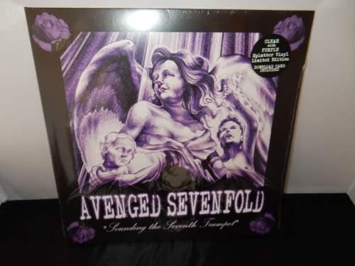 Avenged Sevenfold - Sounding The Seventh Trumpet - Ltd Ed Purple splatter vinyl