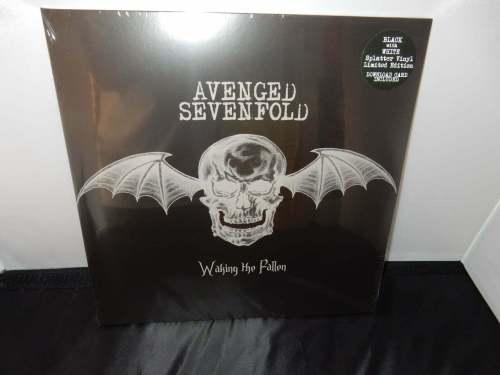 """Avenged Sevenfold """"Waking the Fallen"""" Ltd Ed 2XLP Black and White Splatter Vinyl"""