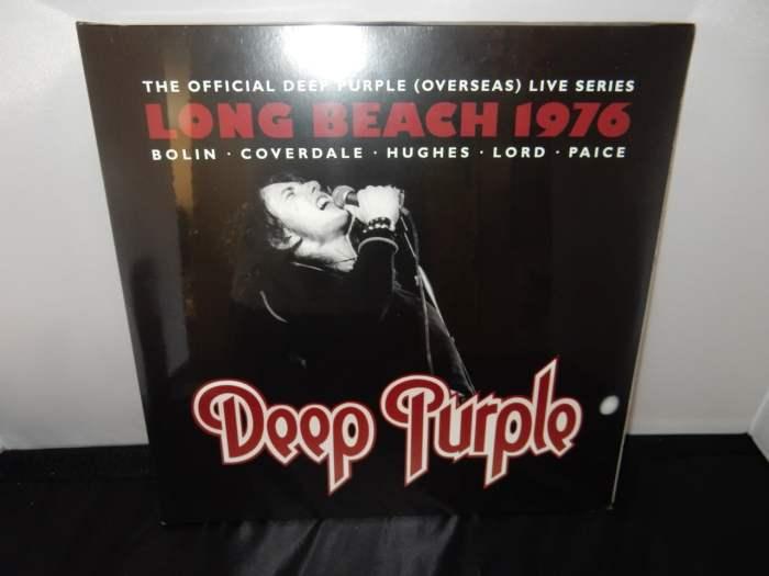 "Deep Purple ""Live at Long Beach Arena 1976"" Ltd Ed 3XLP Vinyl 2016 Import"
