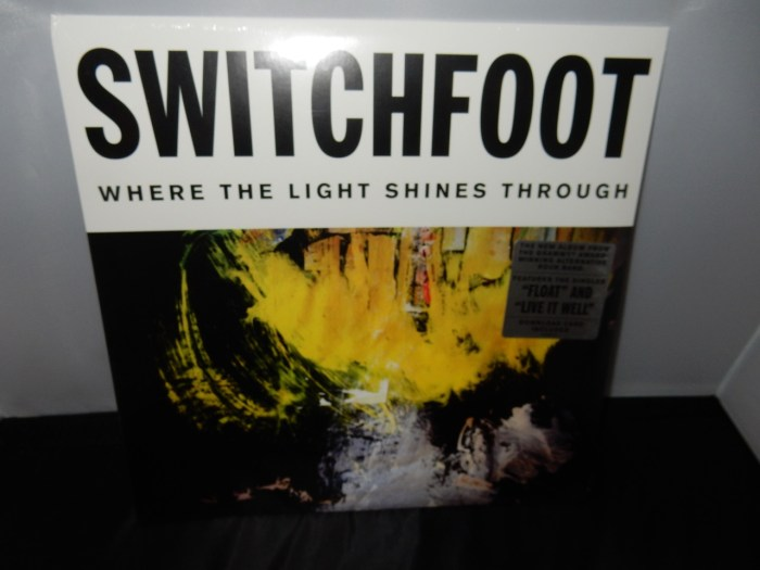 "Switchfoot ""Where The Light Shines Through"" 2XLP Vinyl 2016"