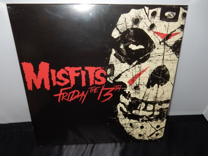 "Misfits ""Friday The 13th"" Limited Edition Colored Vinyl EP"