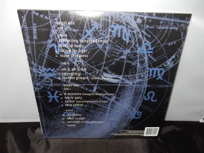 """Dungeon Family """"Even In Darkness"""" 2XLP Ltd Ed White Vinyl Reissue"""